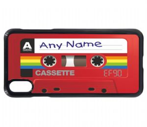Personalised Custom Retro 80's EF90 Cassette Tape (Any Name) Mobile Phone Case To Fit iPhone